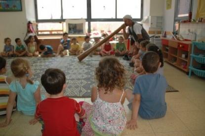 פעילות בגן הילדים