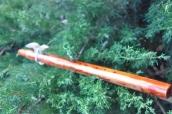 חליל אנדיאני מעץ מלא
